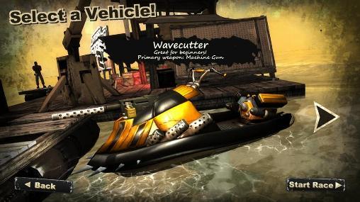 بازی جنگی با قایق موتوری برای اندروید