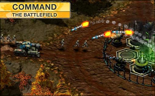 Screenshots of the Modern command for Android tablet, phone.