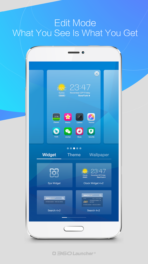 360 Launcher-Fast, Free Themes-1