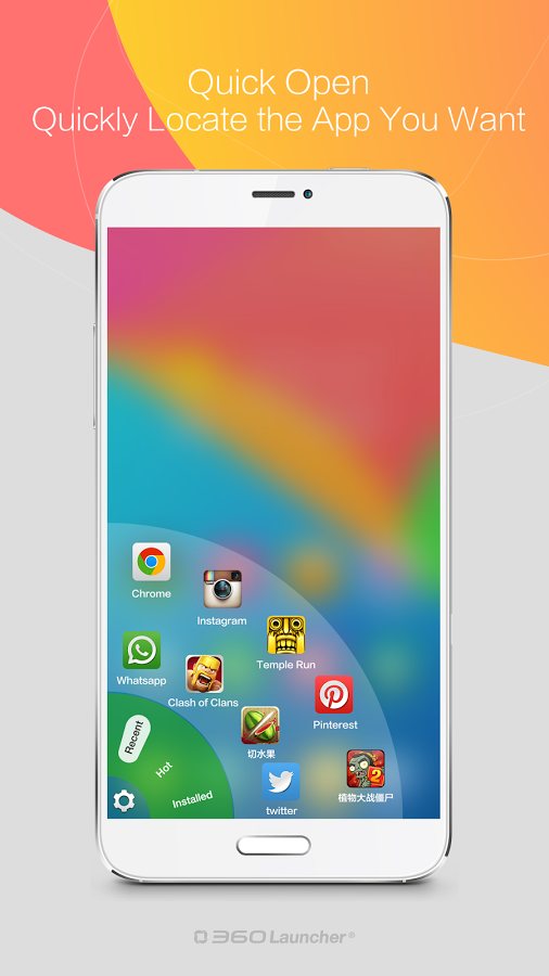 360 Launcher-Fast, Free Themes-3