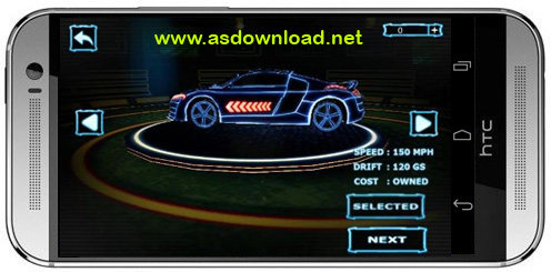 Asphalt Neon Asphalt: Neon بازی مسابقه آسفالت نئون برای اندروید  بدون دیتا