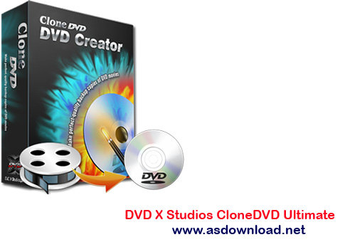 DVD X Studios CloneDVD Ultimate DVD X Studios CloneDVD Ultimate 7.0.0.11 نرم افزار رایت و فشرده سازی DVD