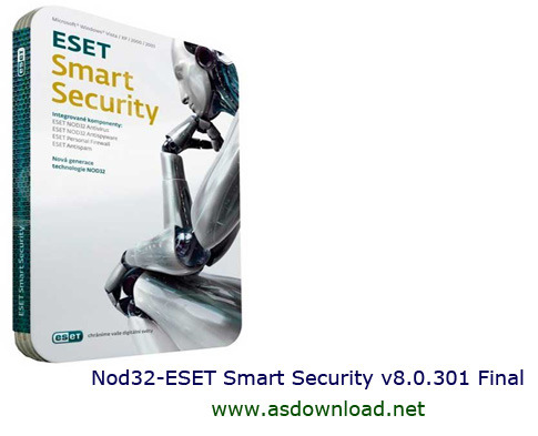 Nod32 ESET Smart Security v8.0 دانلود نسخه جدید Nod32 ESET Smart Security v8.0.305 Final