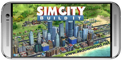 SimCity Buildit SimCity: Buildit بازی مهندسی شهر سازی برای اندروید+دیتا