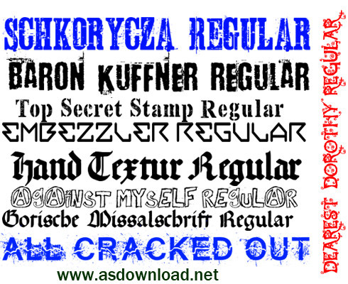 new english font 2014