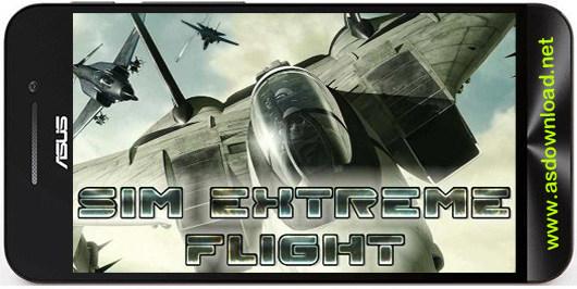 sim extreme flight Sim extreme flight بازی جنگنده های MiG 29، F 22 برای اندروید