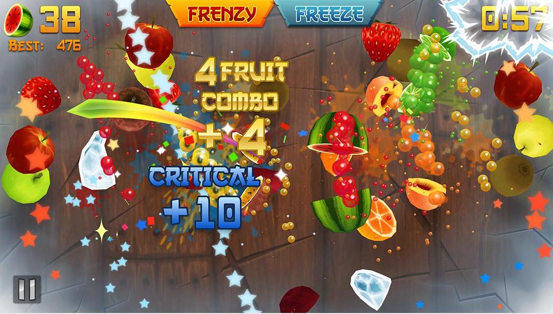 1-Fruit Ninja