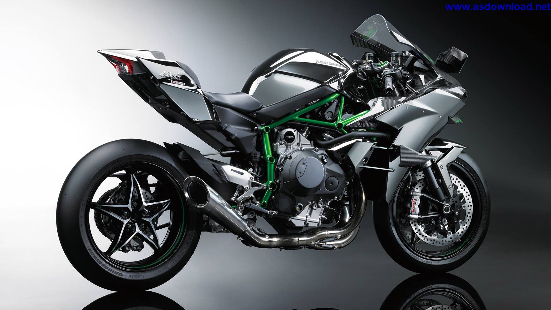 2015-Kawasaki-Ninja-H2R-Supercharged Wallpaper