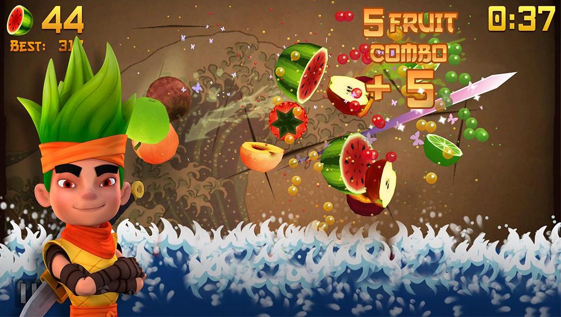 3-Fruit Ninja