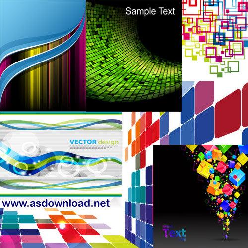 Abstract Vector Background دانلود مجموعه وکتور بسیار زیبا برای بک گراند و طراحی