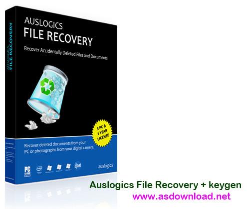 Auslogics File Recovery+ keygen