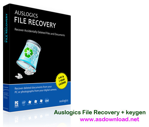 Auslogics File Recovery keygen Auslogics File Recovery 5.1.0.0 + keygen نرم افزار بازیابی اطلاعات از حافظه فرمت شده