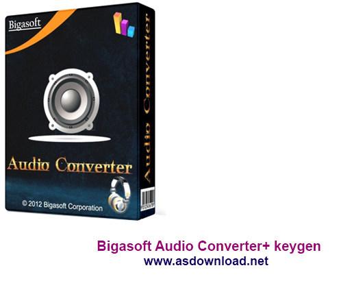 Bigasoft Audio Converter+ keygen