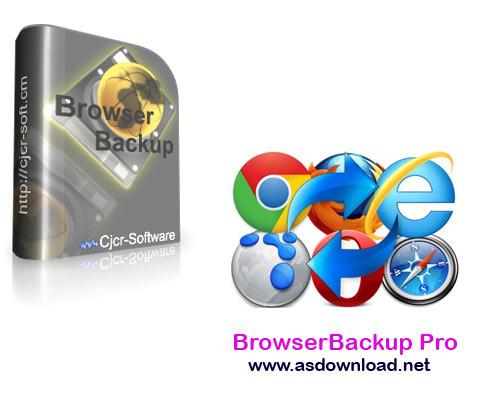 BrowserBackup Pro  BrowserBackup Pro 9.0.0.0 نرم افزار بکاپ گیری از مرورگرها