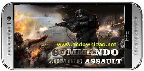 Commando Zombie assault