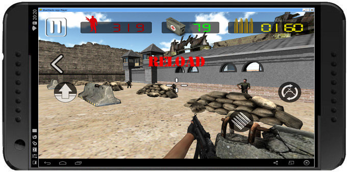 Death shooter Commando 3D