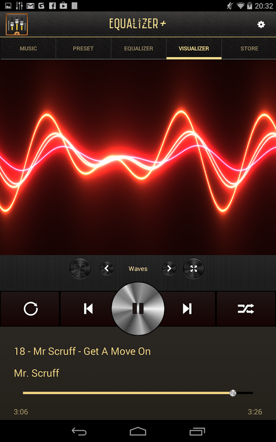 Equalizer + mp3 Player Volume-2