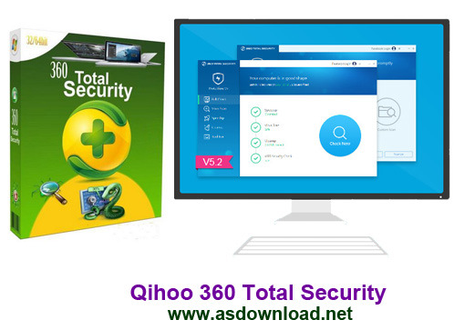 Qihoo 360 Total Security Qihoo 360 Total Security 5.2.0.1074+ آنتی ویروس سه موتوره Avira،Bitdefender ,QVMII