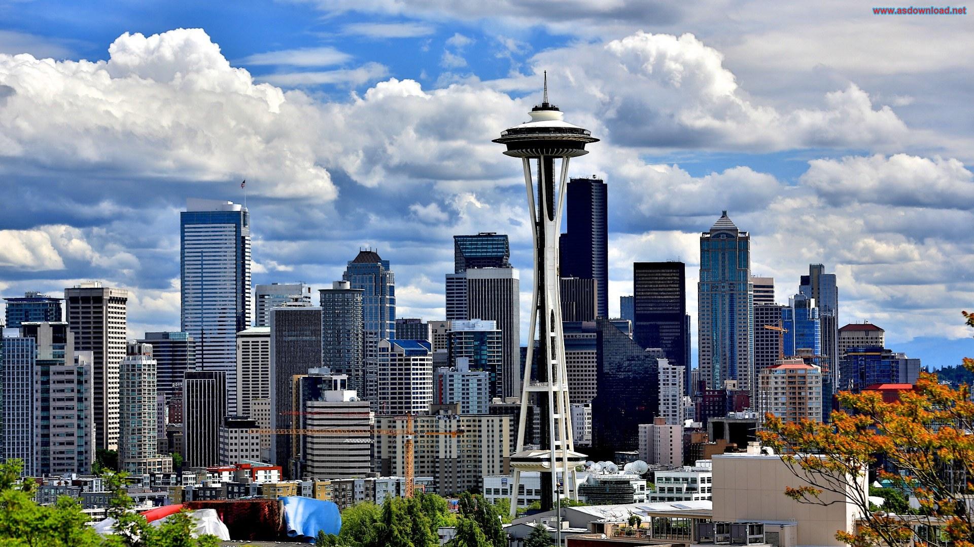 Seattle-Washington-Free-Desktop-Wallpaper
