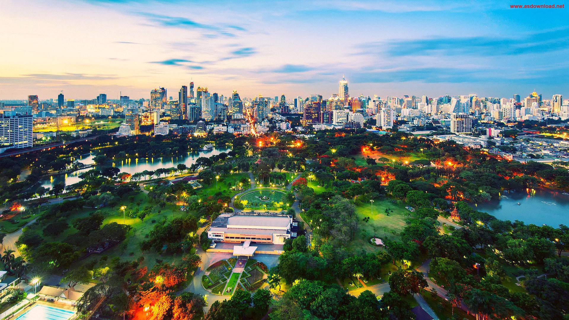 Thailand-Parks-Sky-Bangkok