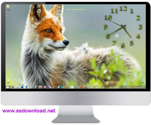 TheAeroClock 3 TheAeroClock 3.77 + x64 ساعت دیواری فوق العاده زیبا برای ویندوز