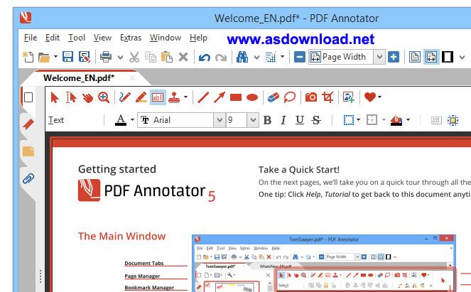 1 PDF Annotator PDF Annotator 5.0.0.505 + patch قوی ترین نرم افزار ویرایش فایل های PDF