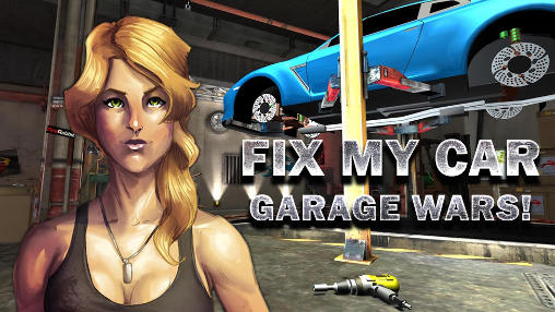 Screenshots of the Fix my car: Garage wars! for Android tablet, phone.