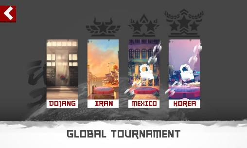 Screenshots of the The taekwondo game: Global tournament for Android tablet, phone.