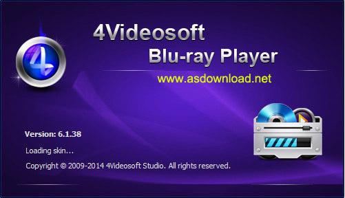 4Videosoft Blu ray Player 6.1 4Videosoft Blu ray Player 6.1.38 نرم افزار پخش فیلم های بلوری