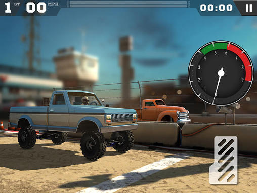 Screenshots of the MMX racing for Android tablet, phone.