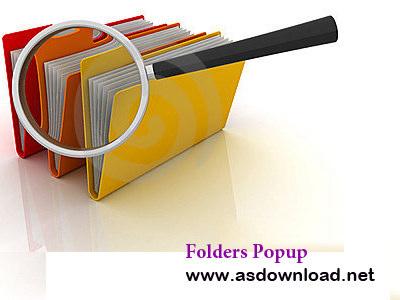 Folders Popup