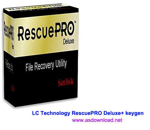 LC Technology RescuePRO Deluxe keygen LC Technology RescuePRO Deluxe 5.2.4.5 + keygen نرم افزار بازیابی اطلاعات