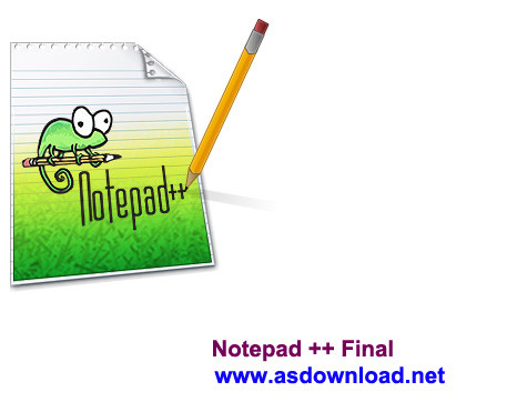Notepad  Notepad ++ 6.7 Final + Portable نرم افزار کد نویسی جایگزین نت پد