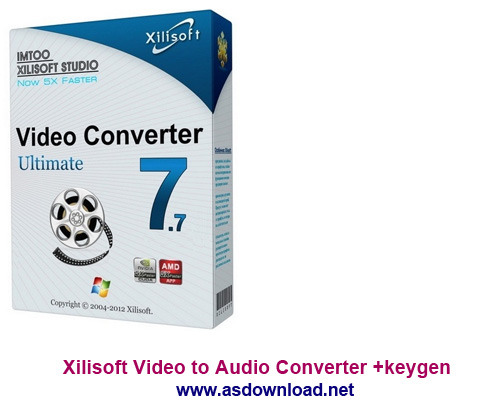 Xilisoft Video to Audio Converter +keygen